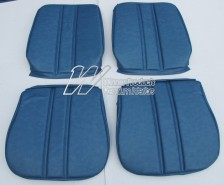 HOLDEN HG PREMIER FRONT SEAT COVER SET TWILIGHT BLUE (TRIM CODE 14) RECLINING BUCKET SEATS